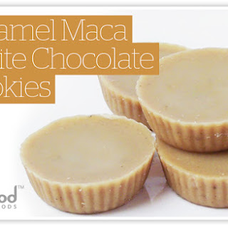 Caramel Maca White Chocolates Recipe