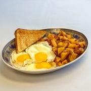 3 Eggs Plate