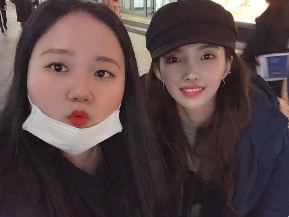 gidle soyeon sister bake 2