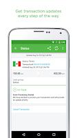 Screenshot of Xoom Money Transfer
