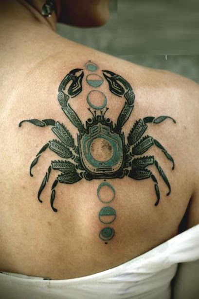 d4001d1d1 50 Best Cancer Tattoos Designs and Ideas For Zodiac Sign