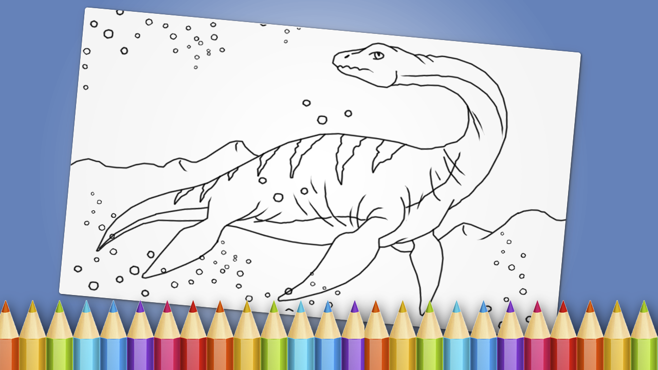 dinosaurs coloring book game android apps on google play