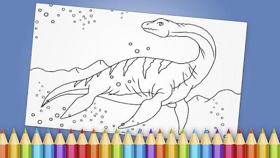 Dinosaurs Coloring Book Game Ful Apk
