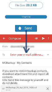 MCBackup - My Contacts Backup v2.0.8