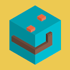 Voxel Snake 3D icon