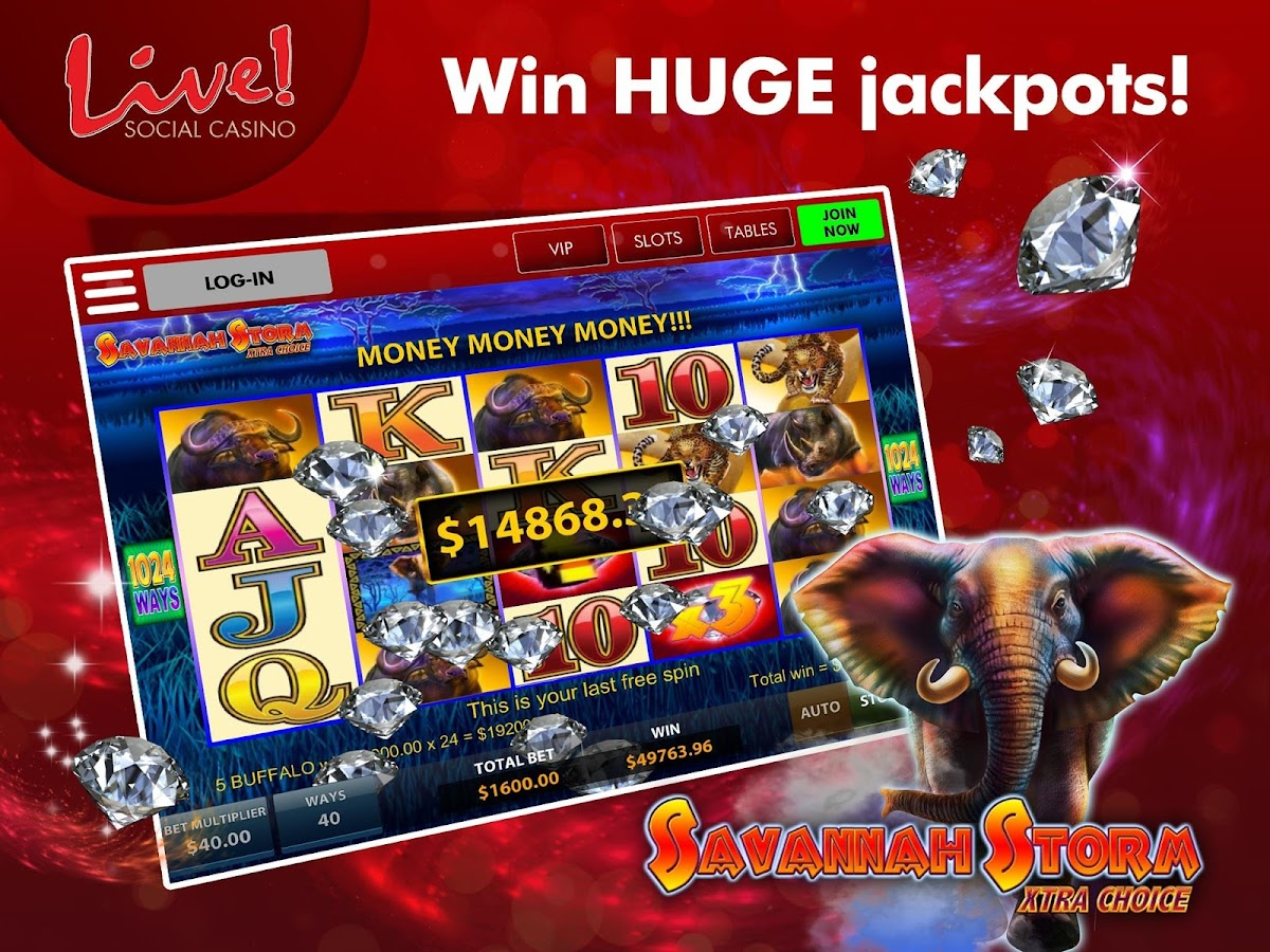 Live! Social Casino- screenshot
