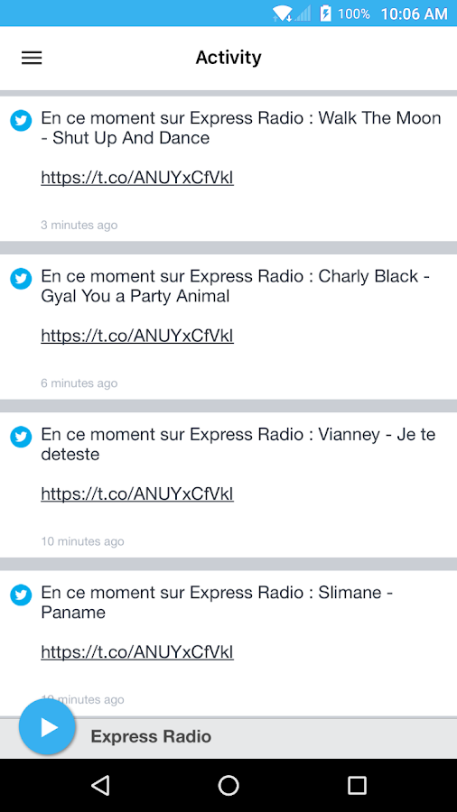 Express Radio- screenshot