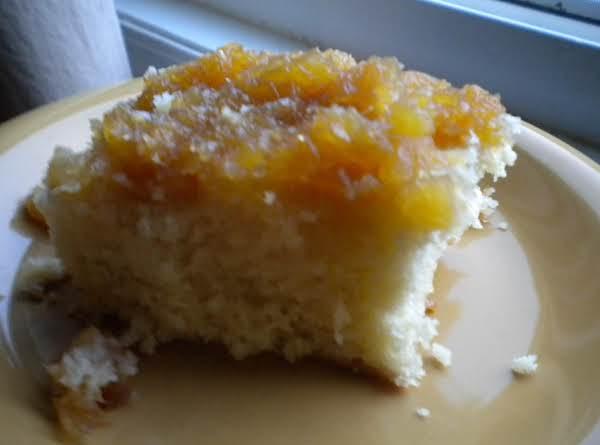 My Pineapple Upside Down Cake