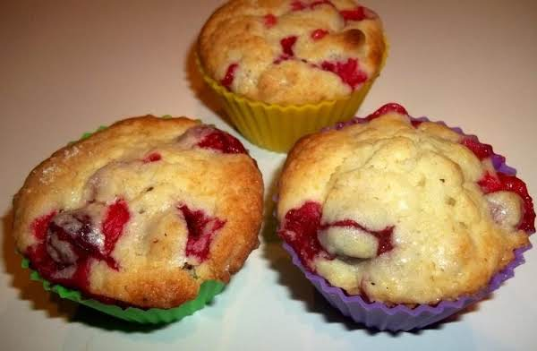 Pucker Up  Cranberry Muffins