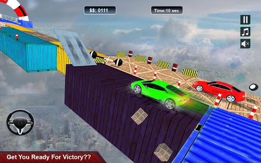 Impossible Stunt Space Car Racing 2019 1.0.1 screenshots 2