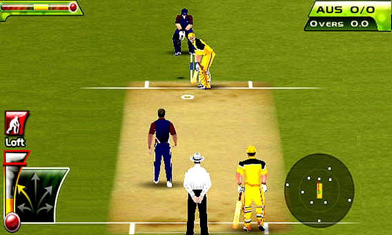 Cricket T20 Fever 3D screenshot 1