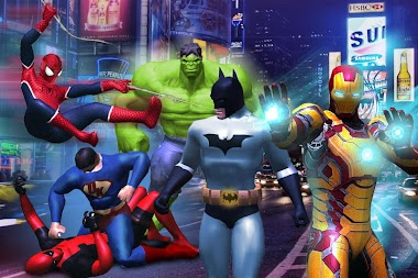 Superhero Legends War : Fighting Injustice Game APK screenshot thumbnail 4