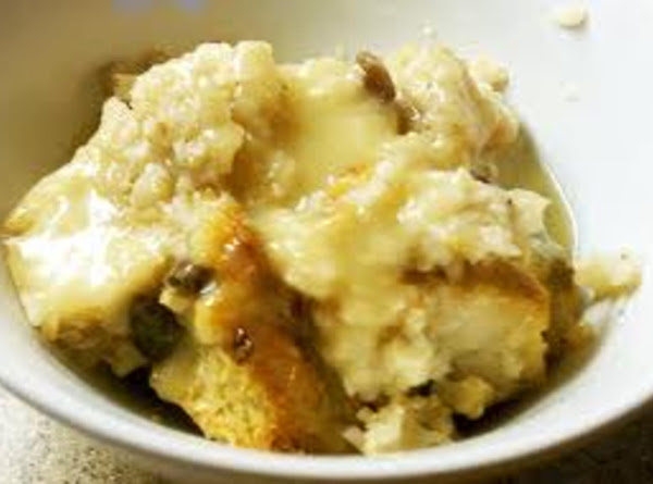 Pineapple Custard Bread Pudding Recipe