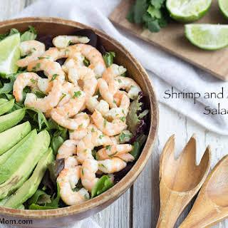 Shrimp and Avocado Salad.