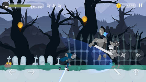 Ninja Knight game for Android screenshot
