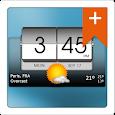 3D Flip Clock & Weather Pro icon