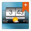3D Flip Clock & Weather Pro