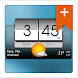3D Flip Clock & Weather Pro image