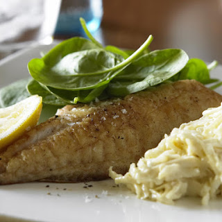 Fish Fillets with Celeriac Remoulade.