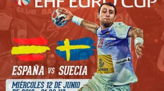 Gran demanda de entradas para el España -Suecia de balonmano
