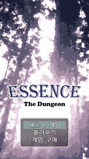 Essence: The Dungeon (한글판)  captures d'écran 1