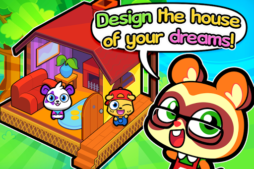 Forest Folks - Cute Pet Home Design Game 1.0.4 screenshots 1