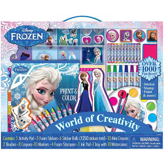 Disney Frozen World of Creativity Art Kit - A Kohl's Exclusive
