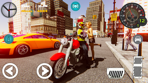 Sports Bike Taxi Rider for PC