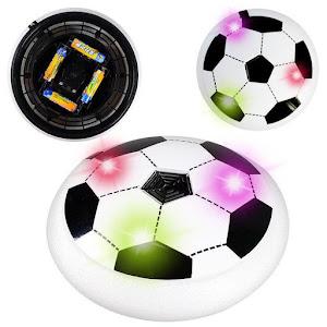 Minge disc fotbal cu aer si lumini oferta reducere 4