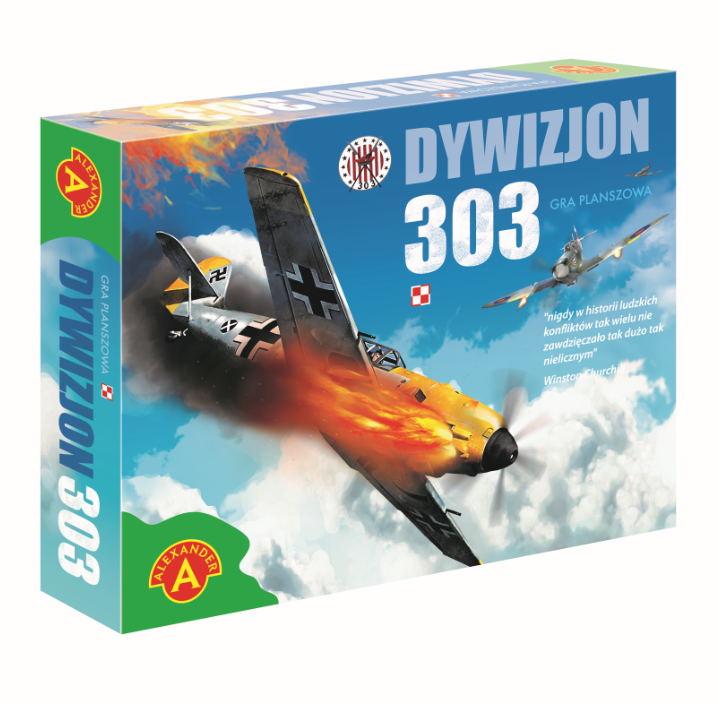 Dywizjon 303 - gra planszowa