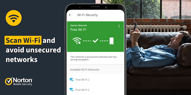 Norton Mobile Security - Antivirus & Anti-Malware Screenshot