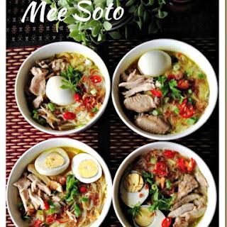 Mee Soto Ayam (马来鸡汤面) Recipe