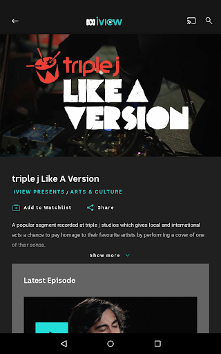 ABC iview 4.4.0 screenshots 16