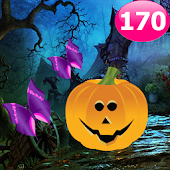 Pumpkin Forest Escape Game 170