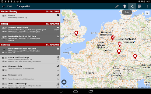 travelload trip planner- screenshot thumbnail
