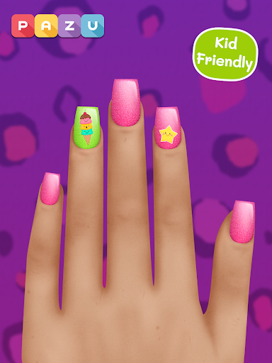 Girls Nail Salon - Manicure games for kids 1.07 screenshots 7