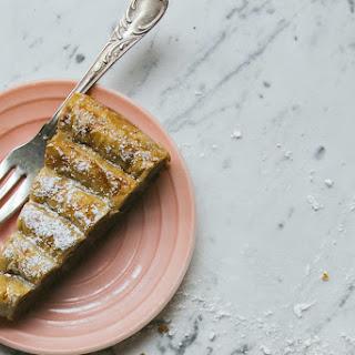 M'hanncha (moroccan Almond And Orange Blossom Phyllo Pastry)