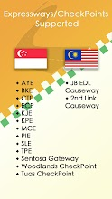 Traffic SG - Best Causeways & CheckPoints Camera screenshot thumbnail