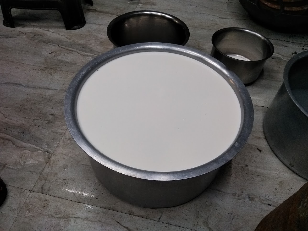 水牛のミルク