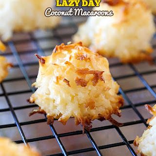 Lazy Day Coconut Macaroons.