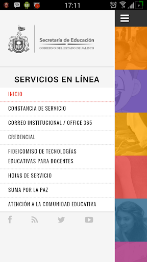 Servicios para docentes SE screenshot 2
