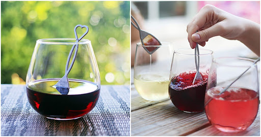 This Heart-Shaped 'Wine Wand' Is Designed To Cure Your Hangovers For Good