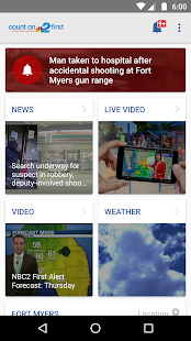 NBC2 App - #1 News App in SWFL- screenshot thumbnail