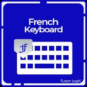 French typing keyboard: English & French Keypad