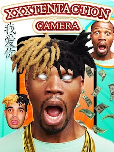 XXXTentacion Hair Photo Editor