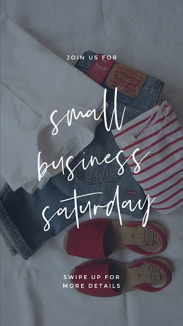 Small Business Saturday Sale - Facebook Story Template