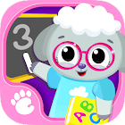 Cute & Tiny Preschool - Learning With Baby Pets icon