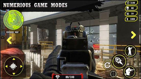 Critical Warfare FPS : Call of Strike Shooter Capture d'écran