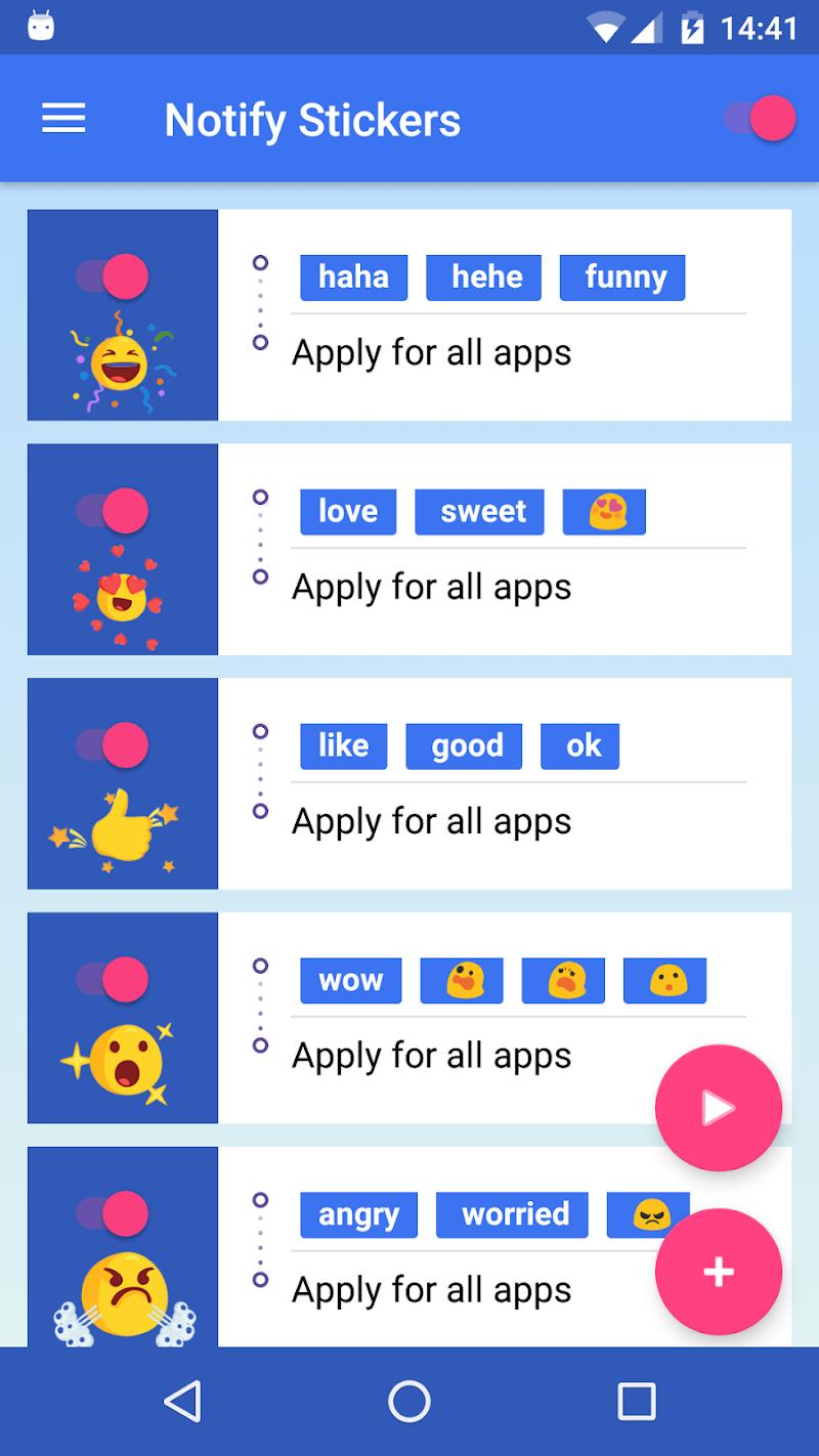 Notify Stickers Screenshot 3