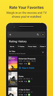 App IMDb Movies & TV Shows: Trailers, Reviews, Tickets APK for Windows Phone